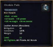 Orcskin Pads