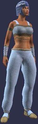 Pristine Hidebound Leather (Armor Set) (Visible, Female)