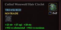 Coiled Werewolf Hair Circlet