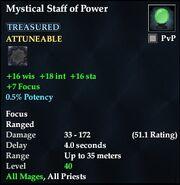 Mystical Staff of Power