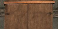 Fir Armor and Shield Rack