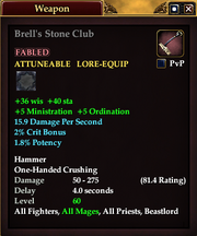Brell's Stone Club