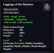 Leggings of the Wayfarer