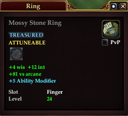 Mossy Stone Ring