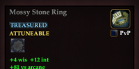 Mossy Stone Ring