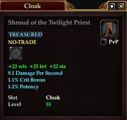 Shroud of the Twilight Priest