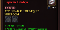 Dominant Circlet of the Supreme Deadeye