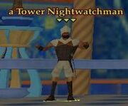 NPC a Tower Nightwatchman