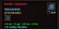 Nordic Claymore