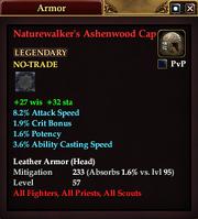Naturewalker's Ashenwood Cap