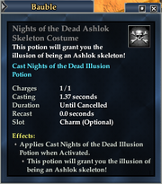 Nights of the Dead Ashlok Skeleton Costume