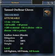 Tanned Owlbear Gloves