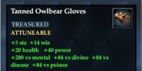 Tanned Owlbear Gloves