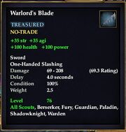 Warlord's Blade