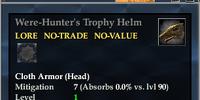 Were-Hunter's Trophy Helm