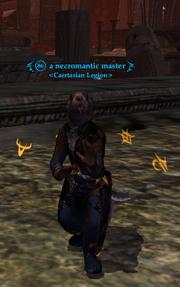 A necromantic master
