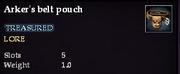Arker's belt pouch