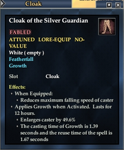 Cloak of the Silver Guardian