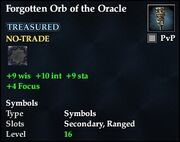 Forgotten Orb of the Oracle