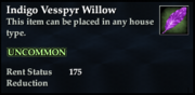 Indigo Vesspyr Willow