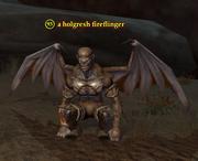 A holgresh fireflinger