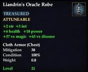 Liandrin's Oracle Robe