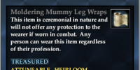 Moldering Mummy Leg Wraps