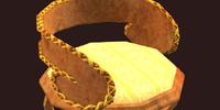 Golden fae chair