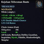 Kejekan Tribesman Boots
