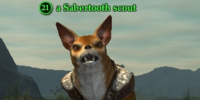 A Sabertooth scout
