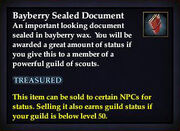Bayberry Sealed Document