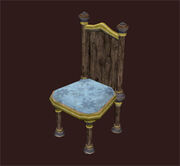 Plush-parlor-chair