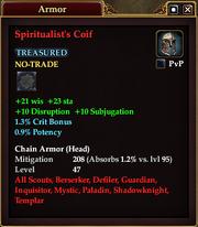 Spiritualist's Coif