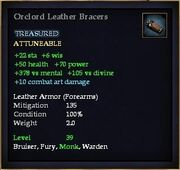 Orclord Leather Bracers