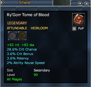 Ry'Gorr Tome of Blood