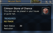 Crimson Stone of Chance