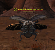 A teralid mound-guardian