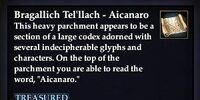 Bragallich Tel'llach - Aicanaro
