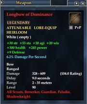 Longbow of Dominance