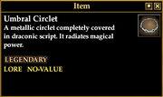 Umbral Circlet