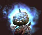 Baleful Scarecrow Mask (Equipped)