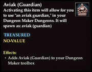 Aviak (Guardian) - Common