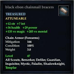 File:Black ebon chainmail bracers.jpg
