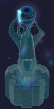 Glacial sculpture (Visible)