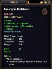 Lunarspun Pantaloons