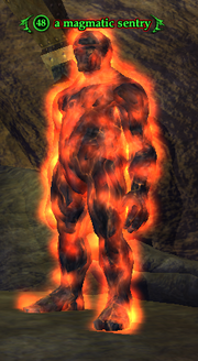 A magmatic sentry