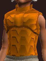 Orange Galvanized Paper Plate Coat (Equipped)