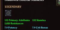 Shadowed Ethereal Manacles