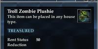 Troll Zombie Plushie