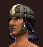 Augur's Combine Coif (Equipped)